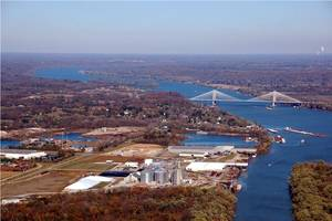 The port of Indiana, Jeffersonville (Photo: Ports of Indiana)