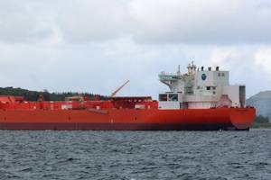 The shuttle tanker Eagle Barents currently on charter for Statoil from AET. (Photo: Statoil)