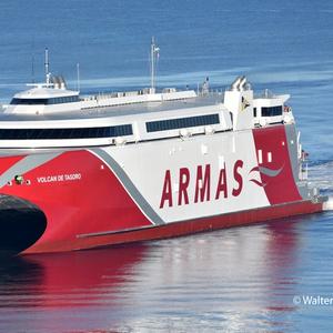 Incat Tasmania Exports 111m Ferry to Spain