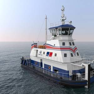 RAL, MTU Team Up on LNG Pushboat