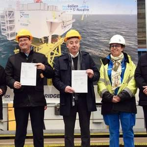Saint-Nazaire OWF Construction Begins