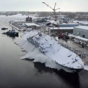 USS Cooperstown Launched and Christened