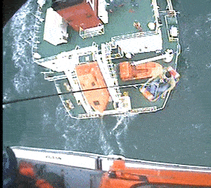 Cargo Ship Captain Medevaced off Maryland