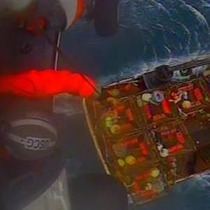 USCG Medevacs Injured Fisherman