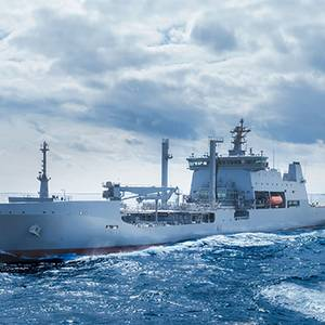 New Zealand's Largest Ever Naval Vessel Delivered in S. Korea