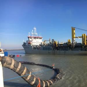 Hopper Dredge Sails 2,000 Hours on Biofuel