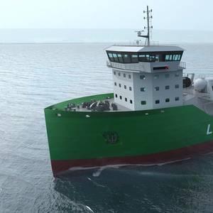Kanfer, CGR Partner to Market LNG Bunkering Vessels