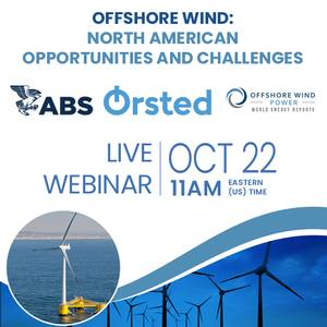 Offshore Wind Webinar: North American Opportunities and Challenges