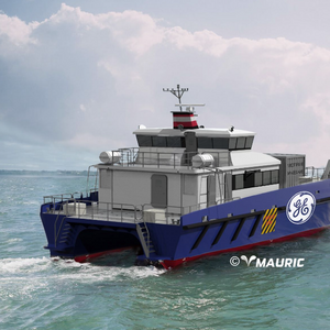 GE Orders Two Crew Transfer Vessels for French Offshore Wind Farm