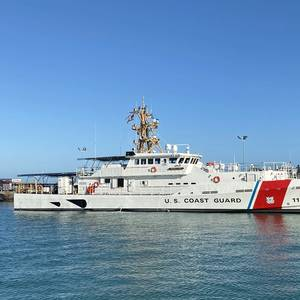 Bollinger Delivers Fast Response Cutter USCGC Frederick Hatch