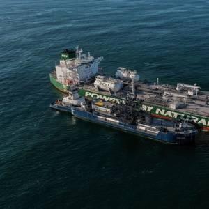 First-Ever: Sovcomflot's Gagarin Prospect Tanker in LNG Bunkering Milestone in U.S.