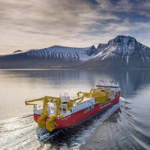 Gallery: Nexans Aurora Cable Layer Goes on Sea Trials