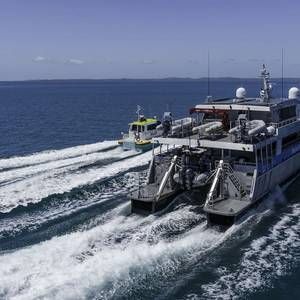 Next-gen Patrol Boat Designed to Help Protect the Great Barrier Reef