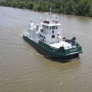 New Workboat to Serve Ellis Island and the Statue of Liberty