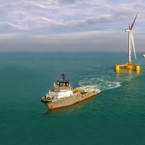 VIDEO: Boskalis Delivers Final Turbine for Kincardine Floating Wind Farm