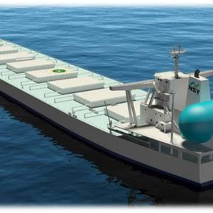 Japanese Steelmaker to Charter Three 210,000-dwt LNG-fueled Bulk Carriers