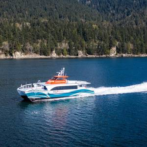 AAM Delivers Fast Ferry for Kitsap