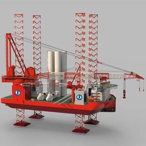 Wärtsilä Thrusters for Chinese Offshore Wind Vessels