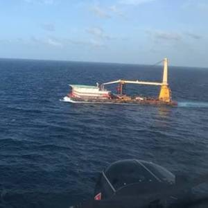 Ailing Crewman Medevaced from Accommodation Barge off Puerto Rico