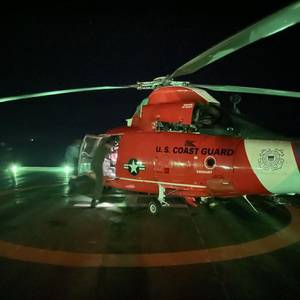 Oil Platform Worker Medevaced in the Gulf of Mexico