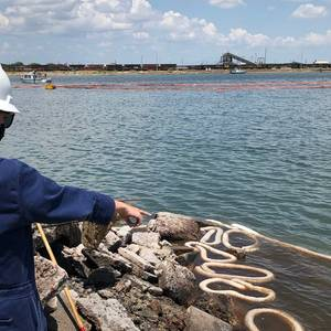 Two Dead, Two Missing in Corpus Christi Dredge Fire