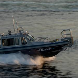 Metal Shark Builds Custom Tender for R/V OceanXplorer
