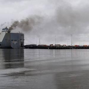 Höegh Xiamen Declared 'Total Loss' After Jacksonville Fire