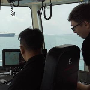 Autonomous Harbor Tug Tested in Singapore