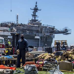 All Known Fires Extinguished Aboard USS Bonhomme Richard