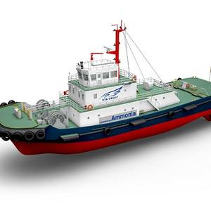 Japan Trio Begins Work on an Ammonia-Fueled Tugboat
