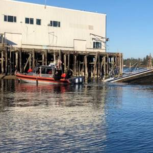 Fishing Vessel Sinks in Coos Bay