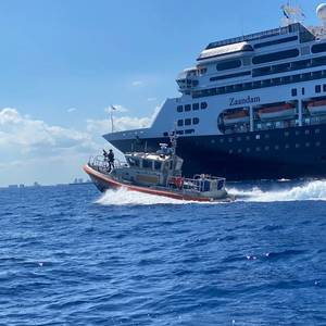 USCG Oversees Disembarkation of 250,000 Cruise Ship Passengers Due to COVID-19