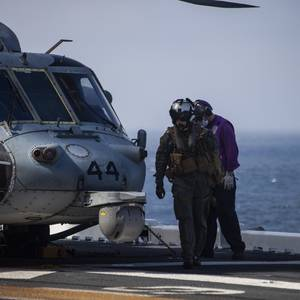 Seven Marines, One Navy Sailor Presumed Dead after Training Accident off California