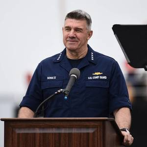 USCG Commandant Delivers SOTCG Address