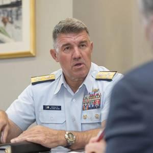 Meet USCG Commandant Admiral Karl Schultz