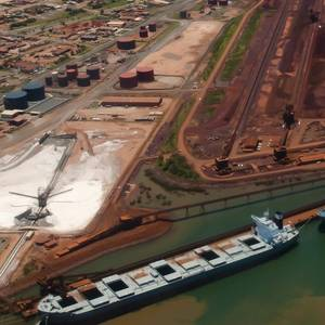 Port Hedland Iron Ore Shipments to China Up 10.6%