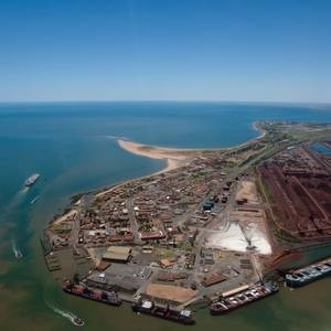 Port Hedland Iron Ore Shipments to China Dip