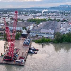 Heavy Lifting: New Tugs Transported for Launch