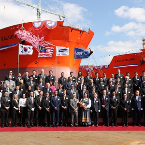 Two LNG Dual-Fuel DP Shuttle Tankers Unveiled