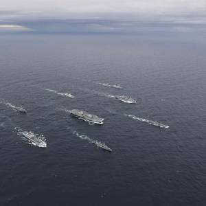 UK Royal Navy's Carrier Strike Group Reaches Initial Operating Capability