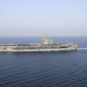 Navy Ends Search for Man Overboard from USS Theodore Roosevelt
