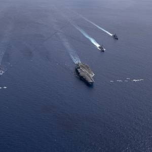 """U.S. Navy Asserts """"Freedom of Navigation"""" in the South China Sea"""