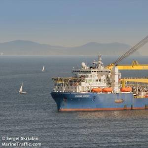 Another Vessel Joining Nord Stream 2 Pipeline Construction