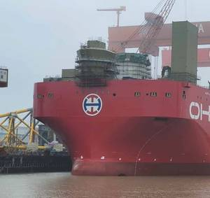 Incident Reported During Construction of Seaway 7's Alfa Lift Vessel in China