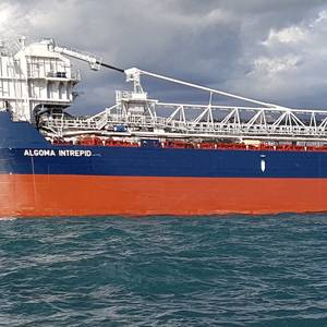 New Self-unloading Bulker Delivered to Algoma