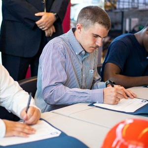 """HII's """"Signing Day"""" For Shipbuilder Academy Grads"""