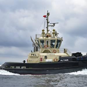 Sanmar Delivers Tug to Latvia's Port of Ventspils