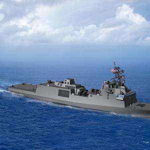 Thrustmaster to Equip US Navy's First Constellation-class Frigate