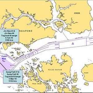 'ReCaaping' Singapore Strait Q1 2019 Activity
