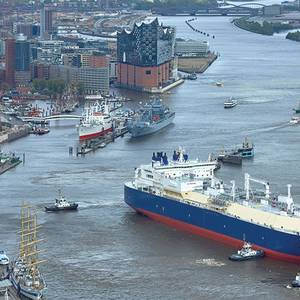 Last Yamal LNG Arctic Ships on Sea Trials